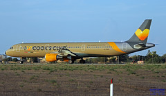 G-TCDV LMML 01-10-2018 (Burmarrad (Mark) Camenzuli Thank you for the 13.8) Tags: airline thomas cook airlines aircraft airbus a321211 registration gtcdv cn 1972 lmml 01102018