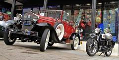 1931 Ford Model 'A' BS 9270, 1956 BSA 896 UYM (BIKEPILOT, Thx for + 4,000,000 views) Tags: 1931 ford modela bs9270 1956 bsa 896uym aldershotcarshow aldershot hampshire uk england britain carshow car automobile vehicle transport classic vintage motorcycle americana