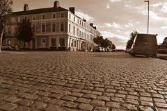 Cobbled Street, Silloth, Cumbria, North West, UK. (Manoo Mistry) Tags: nikon nikond5500 tamron tamron18270mmzoomlens silloth cumbria northwest englanduk sepia co cobbledroad