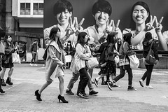44 Slant Hut Hut Hut (burnt dirt) Tags: asian japan tokyo shibuya station streetphotography documentary candid portrait fujifilm xt1 bw blackandwhite laugh smile cute sexy latina young girl woman japanese korean thai dress skirt shorts jeans jacket leather pants boots heels stilettos bra stockings tights yogapants leggings couple lovers friends longhair shorthair ponytail cellphone glasses sunglasses blonde brunette redhead tattoo model train bus busstation metro city town downtown sidewalk pretty beautiful selfie fashion pregnant sweater people person costume cosplay boobs