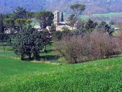 Santa Maria in Vescovio (giorgiorodano46) Tags: marzo2007 march 2007 giorgiorodano vescovio sabina lazio italy chiesa church monastero monastery