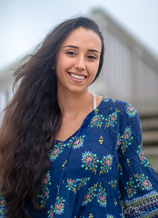 Sweet Smile (oshcan) Tags: model woman girl portrait beauty longhair nikon d4s 85mm14