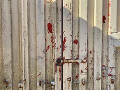 spooky zombie container (Rene_1985) Tags: zombie survival iphone metal metall tür door container