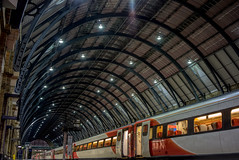 Tunnel (EricMakPhotography) Tags: london station tunnel platform train