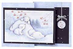 Craft Creations - Shelley180 (Craft Creations Ltd) Tags: polarbears snow greetingcard craftcreations handmade cardmaking cards craft papercraft christmas