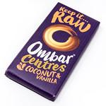 Ombar Centres dunkle Bio-Schokolade mit Creme-Füllung mit Kokosnuss und Vanilie thumbnail