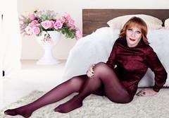 DSC09793_FF (msdaphnethos) Tags: transgender crossdress bordeaux redhead daphnethomas oroblu