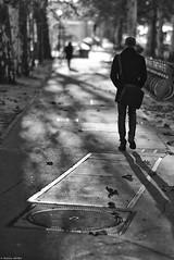 A côté de la plaque (Mathieu HENON) Tags: leica leicam noctilux 50mm monochrome laphotodulundi m240 noirblanc nb bw bnw streetphoto street france paris 13ième arrondissement quaidausterlitz parisien workingman plaque lifestyle