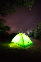 Green Glowing Camping Tent (Gentilcore) Tags: activity adventure arizona astro bright camp campground camping campsite dark desert evening forest lighting lit navajo night outdoor outdoors park sky sleeping starry stars travel trees view visit activities bed canyon electric frame get go monument national neon nighttime outside overnight peace rest service shining sleep solitude summer universe within shonto unitedstates us