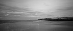 Footdee beach (jimallan195) Tags: aberdeen footdee beach coast lighthouse landscape monochrome