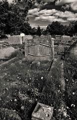Asleep (Malc '64') Tags: yorkshire trinitychurch ossett canon monochrome blackandwhite grave cemetery