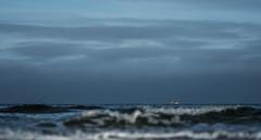 Rough seas (Wouter de Bruijn) Tags: fujifilm xt2 fujinonxf90mmf2rlmwr sea seascape landscape nature waves wave water ocean outdoor fishing boat fishingboat bokeh depthoffield coast oostkapelle veere walcheren zeeland nederland netherlands holland dutch