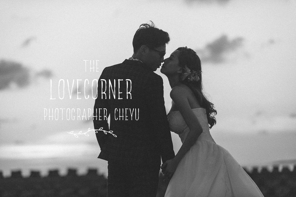 拍出逆光臨場感愛情電影的婚紗影像,你一定喜歡 (下輯)inBlossom手工訂製婚紗