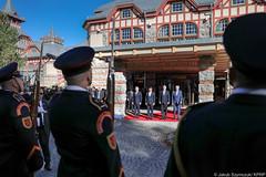 Szczyt przywódców państw Grupy Wyszehradzkiej (Kancelaria Prezydenta) Tags: pad andrzejduda v4 prezydent