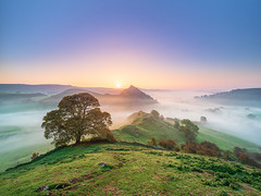 Sunrise in the Shire (Stephen Elliott Photography) Tags: peakdistrict derbyshire upper dove valley chrome hill parkhouse sunrise morning autumn olympus em1 714mm kase filters
