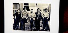 ipad / photo by gordon parks 1945 . drug store cowboys (bluebird87) Tags: ipad men cowboys 1945 gordon parks film kodak ektar nikon f5 dx0 c41 lightroom