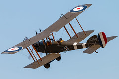 Royal Aircraft Factory BE2e A2943 (G-CJZO) (Replica) (Sam Wise) Tags: warden aircraft old be2 vintage collection royal factory war first shuttleworth biplane air wwi world show airshow