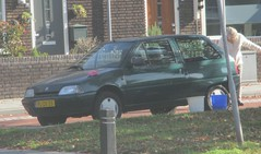 1996 Citroen AX 1.1i Spot (occama) Tags: plzx35 citroen ax green old car holland netherlands french