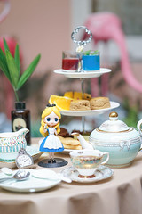Alice's Tea Party (enchanted.fairy) Tags: adventure afternoon afternoontea alice animations book bottle card cards caroll carroll cartoon children clock cup design down drink drinkme fairy fantasy girl hand hearts hole imagination invitation key lewis mad magic movies mushroom objects party play pocket qposket queen rabbit story storytelling tale tea teatime time vintage watch white wonderland