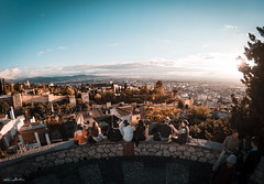 Alhambra (Alvaro RP) Tags: approved city granada spain españa alhambra fortaleza patrimonio turimo skyline dreamscape castle muslim nazari medieval viewpoint tourists visitors sunset sunrise aerial fortress wall tower fortification heritage patrimony alandalus andalucia