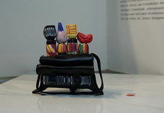 """""""CRAZY BEADS"""" (Fimeli) Tags: polyclay polymerclay brosche handmade handwork colors brooch"""