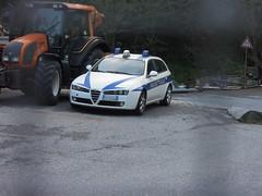 Alfa Romeo 159 Sportwagon Polizia Locale Provincia di Genova (alessio2998) Tags: alfa romeo 159 sportwagon polizia locale provincia di genova provinciale metropolitana 112nue