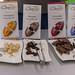 Carpe Bio - vegan organic chocolate with premium cocoa on serving plates for tasting samples