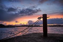 November Afternoon, Norway (Vest der ute) Tags: xt20 norway rogaland haugesund sea water sky clouds sunset quay rope afternoon fav25 fav200