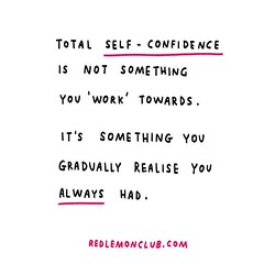 Strip away the delusion about your lack of confidence. (iamalexmathers) Tags: motivation poster art fear life makeart work workhard motivate drawing consistency courage purpose career drive creativity productivity inspire make illustration handwrittentext redlemonclub alexmathers quote