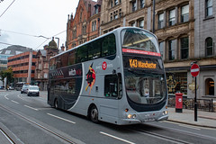 WitchWay PJ05ZVY (Mike McNiven) Tags: transdev blazefield theburnleybuscompany burnley skipton princessstreet chorltonstreet wright gemini eclipse