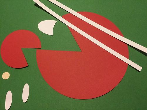 cut pieces of yardstick