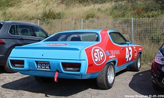 Plymouth Satellite 1972 (XBXG) Tags: dz2252 plymouth satellite 1972 plymouthsatellite historic grand prix 2018 zandvoort nederland holland netherlands paysbas vintage old classic american car auto automobile voiture ancienne américaine us usa vehicle outdoor