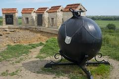 Bender_0148c (Per Lekholm) Tags: transnistria transnistrien bender münchhausen canon ball kanonkula münchausen