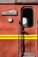 Red History (Of Light & Lenses) Tags: haapsalu estonia estland tzar engine railroad station soviet history