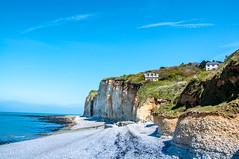 French Coastline (Tony Shertila) Tags: saintpierreenport normandie france fra 20170422122036francenormandysaintpierreenportlr coast europe cliffs beach shingle stones sea englishchannel lamanche