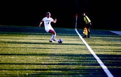 Playing in the shadows (stephencharlesjames) Tags: womens sport ball college sports soccer middlebury vermont ithaca ncaa shadows