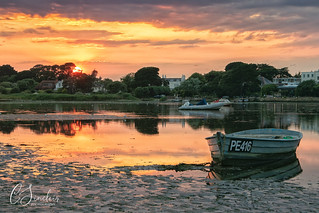 Mudeford Sunset (Explored)