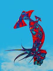 """Mother & Child"" (donnacoburn1) Tags: safe public ipadartist ipadart ipadproart digital digitalart apps apple ipadpro procreate experimental colourful colours abstract abstraction donnacoburn original mobileart creative art"