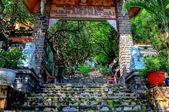 A Mysterious Gate of a Temple (NguyenMarcus) Tags: vungtau bàrịa–vũngtàu vietnam vn worldtrekker aasia