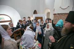 61. Престольный праздник свв. мучениц в соборе г. Святогорска 30.09.2018