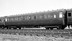 c.1963 - Bridlington, East Yorkshire. (53A Models) Tags: britishrailways lner gresley ck e18426e coachingstock passengercoach bridlington eastyorkshire train railway locomotive railroad
