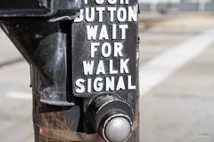 Signal kommt (alexanderkaiser) Tags: simple usa dienstreise städtereise ampel chicago illinois vereinigtestaaten us