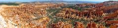 20180921 Bryce Canyon-0158-Pano.jpg (Mark Harshbarger Photography) Tags: nationalpark brycecanyon utah panorama redrocks canyon