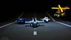 Micromaster Air Patrol (Klinikle) Tags: transformers micromaster autobot patrol robot air jets helicopter treadbolt eagleeye skyhigh blazemaster hasbro