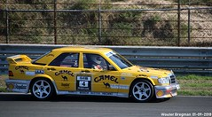 Mercedes W201 190E 2.3-16 1986 (XBXG) Tags: oliver selnick mercedes w201 190e 23 16v 1986 mercedesw201 cosworth dtm deutsche tourenwagen masters historic grand prix 2018 circuit park zandvoort cpz race track motorsport nederland holland netherlands paysbas youngtimer old german classic car auto automobile voiture ancienne allemande germany deutsch duits deutschland vehicle outdoor camel yellow
