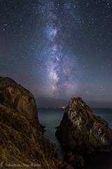 Entre rocas. (Roberto_48) Tags: ngc via lactea centro arrecife sirenas cabo gata nocturna noche almeria larga exposicion