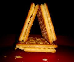 Crispy crunchy home (Onlyshilpi) Tags: macromondays perfectmatch biscuit lowkey mobilephotography