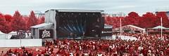 Rock en Seine 2018 (PLF Photographie) Tags: paris infrarouge infrared rock en seine festival musique ile de france music carte blanche danse festivalier aerochorme numérique digital red rouge