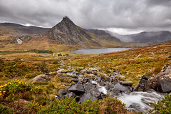 Owen valley (Explored Oct 18) (another_scotsman) Tags: tryfan ogwen snowdonia wales landscape clouds sky rain stream cascade