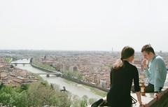 Sightseeing talk (Insher) Tags: italy italia veneto verona bridge adige river